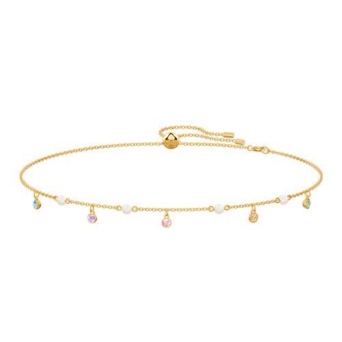 SWAROVSKI No Regrets Necklace, Multi-colored, Gold-tone plated