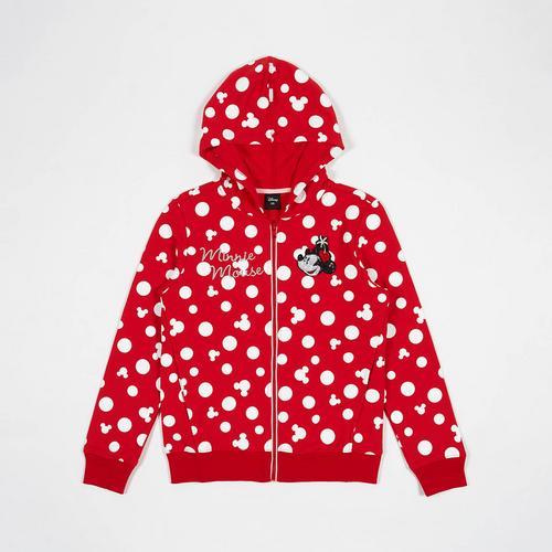 Disney Teen Women Jacket Minnie Red-XS