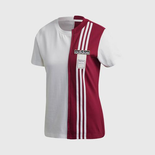 ADIDAS Adibreak Tee Graphic Tee  - Size 32 (White)