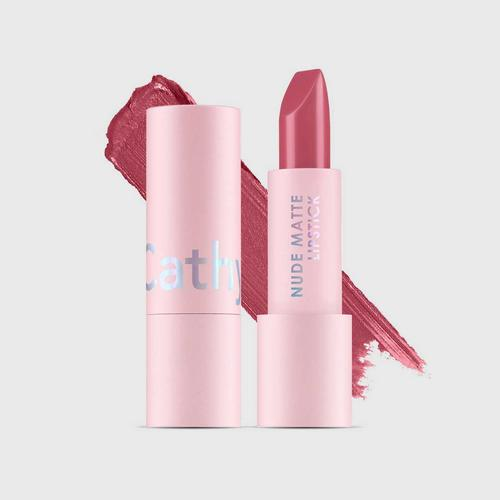 CATHY DOLL Nude Matte Lipstick 3.5g Cathy Doll (M) #05 Naked Heart