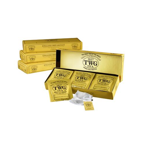 TWG ENGLISH BREAKFAST TEA 15 X 2.5G. TEABAGS