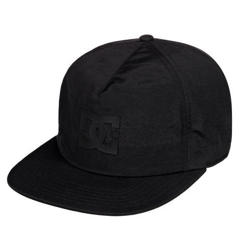 DC SHOES Floored Snapback Hat  BLACK-Free Size