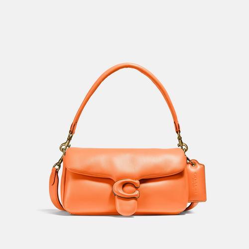 蔻驰COACH Pillow Tabby Shoulder Bag 26 - Orange