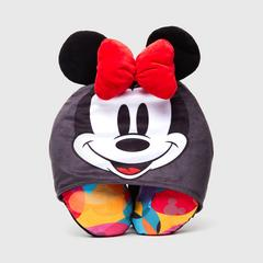Disney Minnie Mouse Neck pillow with Hoodie