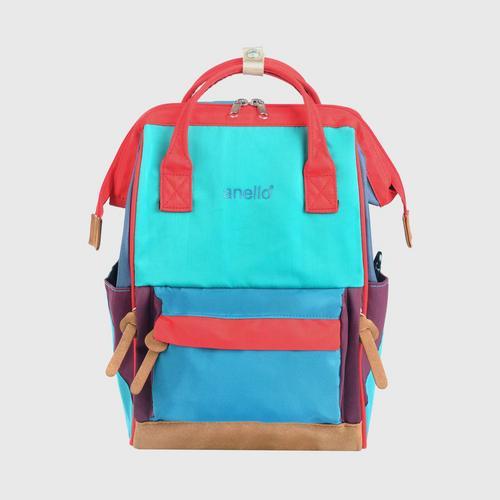 ANELLO OS-S057-NOSTALGIC Mouthpiece Mini Backpack-GREEN