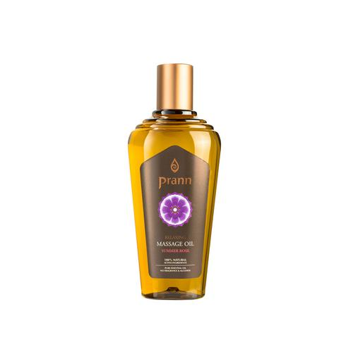 PRANN Relaxing Summer Rose Massage Oil (250 ml)