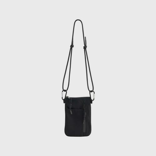 MAHANAKHON Pitch Black Crossbody Bag