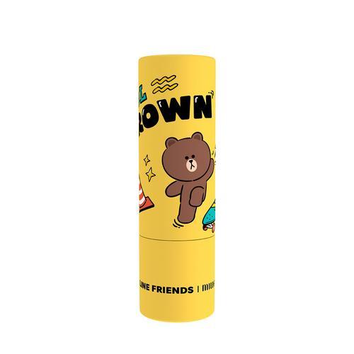 MILLE Line Friends l Mille Iconic Lip Color #01 Brown