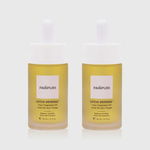 Pañpuri LOTUS DEFENSE™ FACE TREATMENT OIL 2x30ml