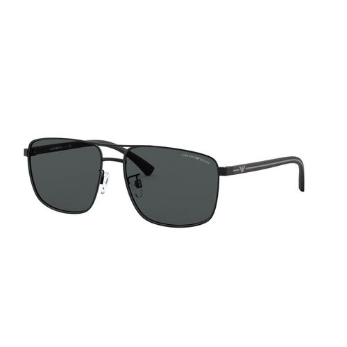 EMPORIO ARMANI Matte Black Injected Sunglasses 0EA2089D30018759