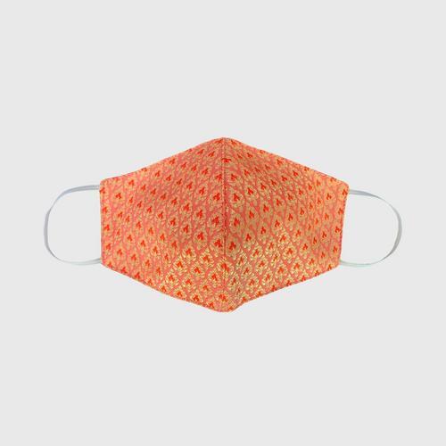 KACHA Silk Face Mask - Orange