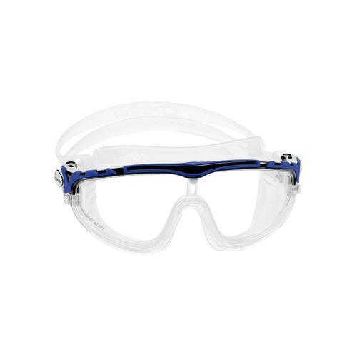 科越思 (Cressi) Skylight 游泳目镜 - 白/蓝色