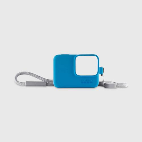 GoPro Sleeve+Lanyard - Blue