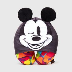 Disney Mickey Mouse Neck pillow with Hoodie