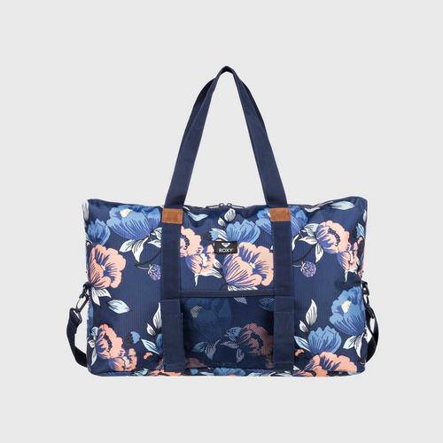 ROXY Blue Color Your Mind 32.5L - Medium Sports Duffle Bag
