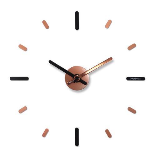 Morphin wall clock Rose Gold