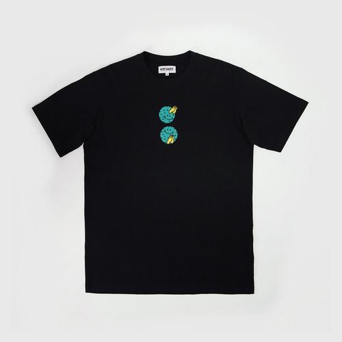 MAHANAKHON Lifestyle T-shirt Hello Durian - Black - M