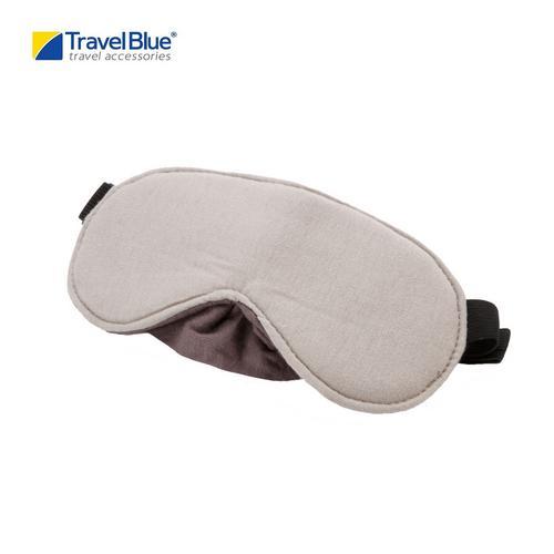 Travel Blue TB453 Luxury Travel Eye Mask - Gray