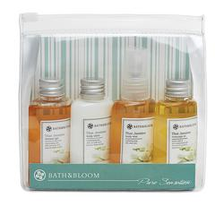 BATH&BLOOM THAI JASMINE MINI ZIP BAG SET (4x50ML)