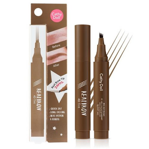 Cathy Doll Real Brow 4D Tint 2g #02 Ash Brown
