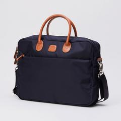 BRIC'S X-Travel Medium Briefcase (Navy) 0.50 kg