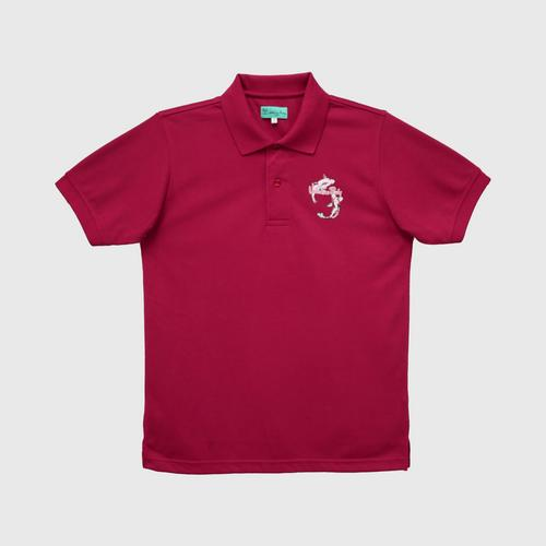 VALENTINO  RUDY Knit Polo - Red - M