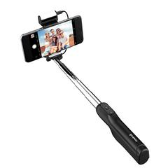 Travelmall Switzerland Bluetooth Selfie Stick With Led Light-Compensation Lamp