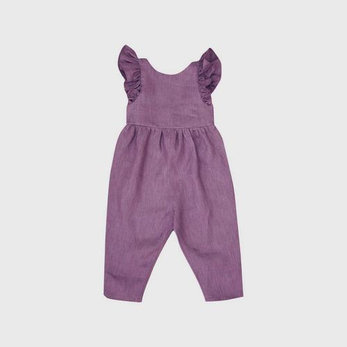 TINY MOON Charlotte Jumpsuit 2-3Y - Purple
