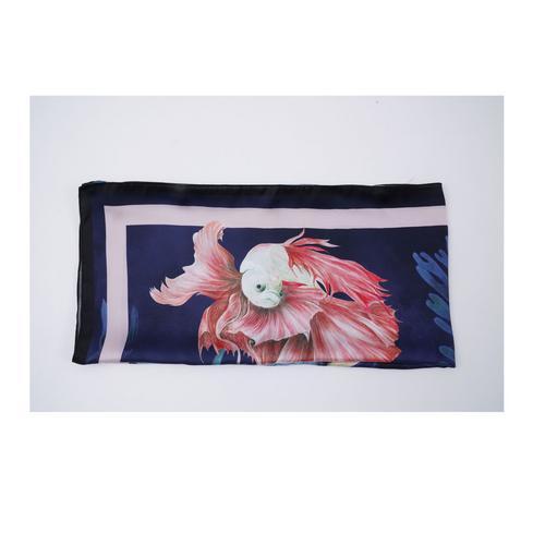 SAI JAI THAI Soft Silk Touch Satin Scarf 90x90 cm.