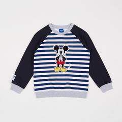Disney Boy SweatShirt Mickey-Sawasdee Striped -S