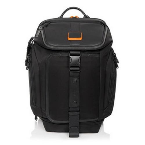 途明TUMI Small 2-in-1 Backpack Duffle Black/Orange