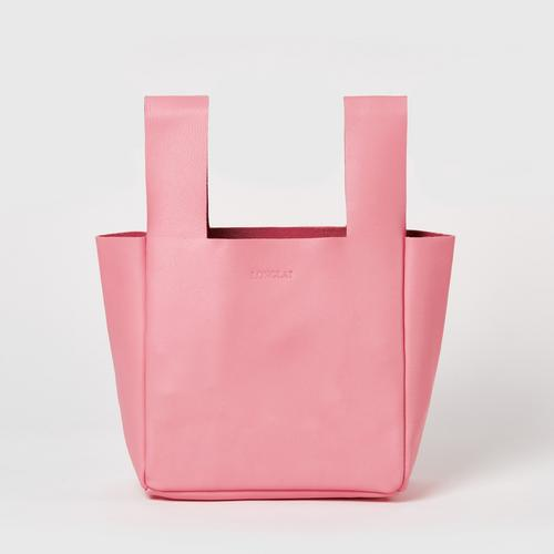 LONGLAI  JEKYLL & HYDE SMALL TOTE BAG BLUSH PINK