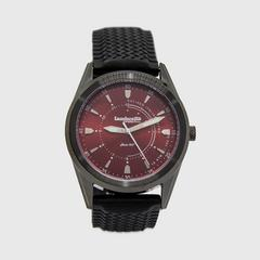 Lambretta Watch Marco 40 Rubber Black Red Black