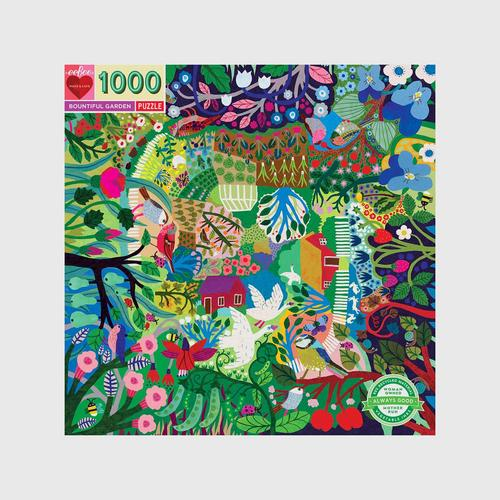 EEBOO - Bountiful Garden 1,000 pc Puzzle