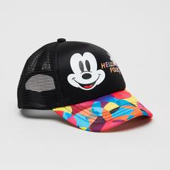Disney Boy Cap Mickey & Multi Print