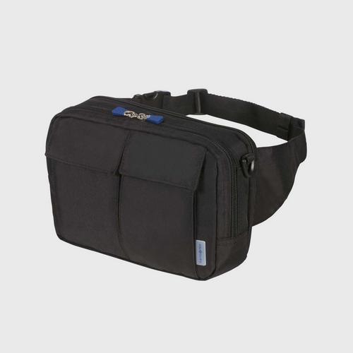 SAMSONITE GLOBAL TA RFID SHOULDER/WAIST BAG - BLACK