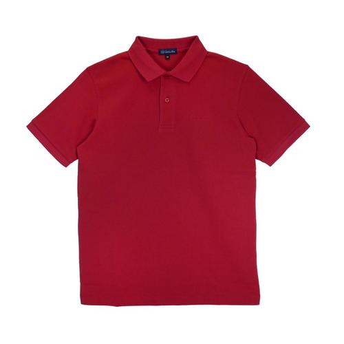 VALENTINO RUDY Knitted Polo Shirt Red - Size M