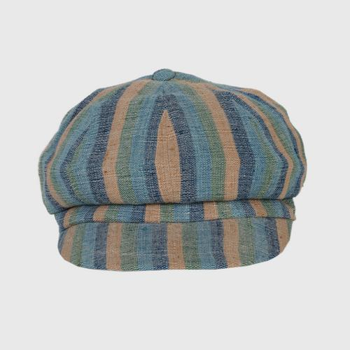 JUTATIP : 100% hand woven cotton hat with natural dyed. Size 58x6-6.5x7.5cm