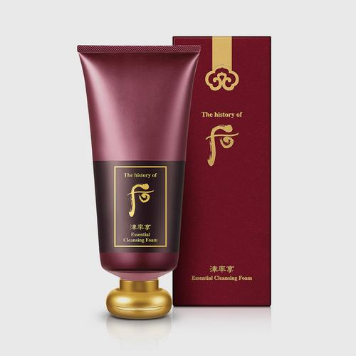 THE HISTORY OF WHOO Jinyulhyang Essential Cleansing Foam  180ml