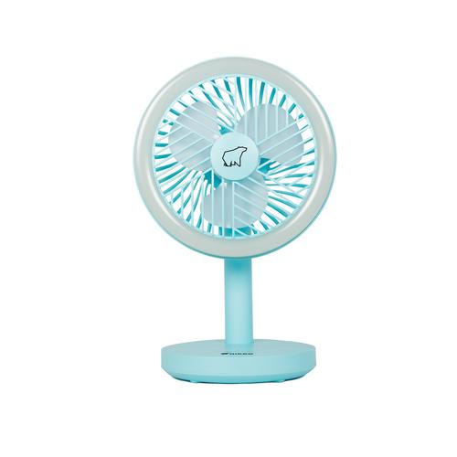 NIKKO Rechargeable and Hanging Fan (Blue)
