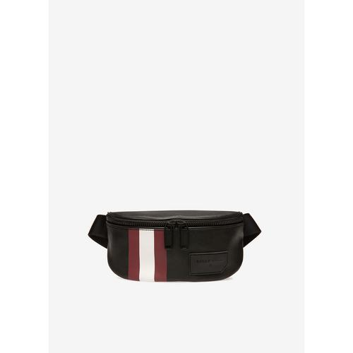 BALLY Sonni - Coated Canvas Bum Bag In Black