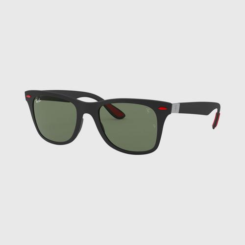 RAYBAN Matte Black Injected Sunglasses 0RB4195MFF6027152