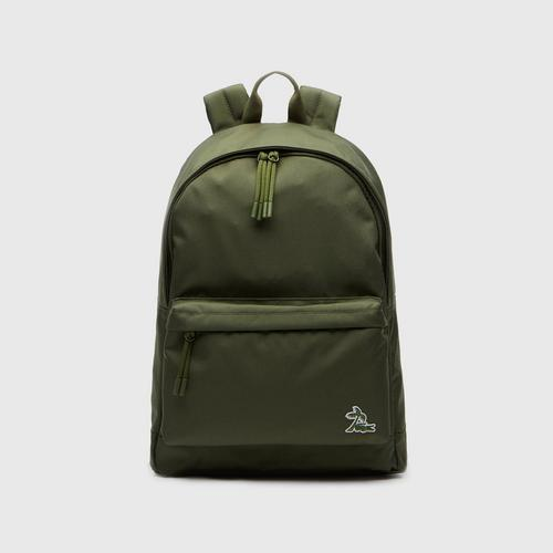 LACOSTE Men's Neocroc Palm Tree Canvas Backpack - Cypress