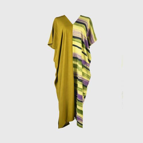 AL-HAMEEN BATIK Casual wear batik (Hill tribe style) -  Green/green