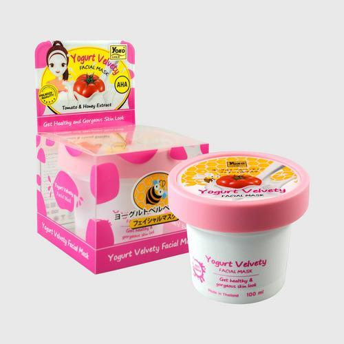 YOKO GOLD YOGURT VELVETY FACIAL MASK 100ml.