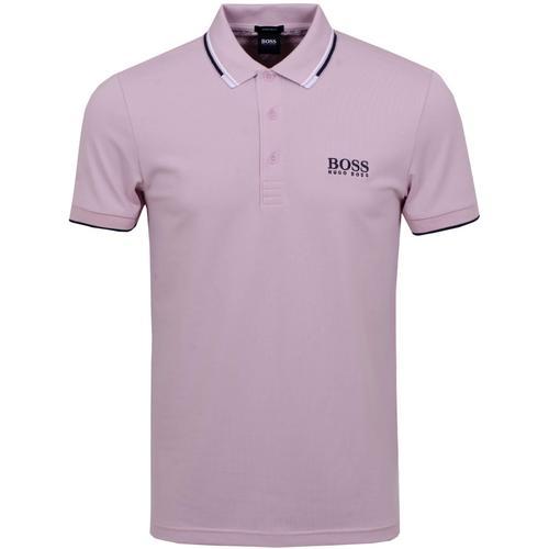 服装Hugo Boss Paddy Pro Men's Polo (Pastel Pink) Size S