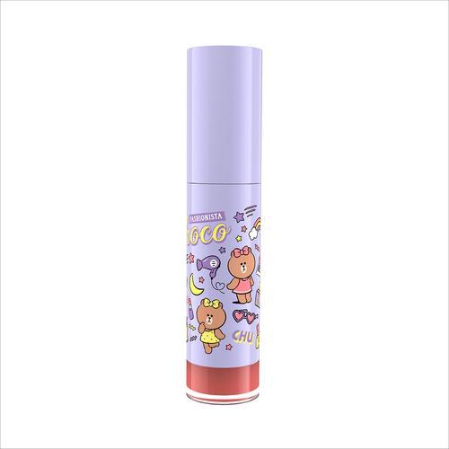 MILLE Line Friends l Mille Iconic Matte Liquid Lip #03 Choco