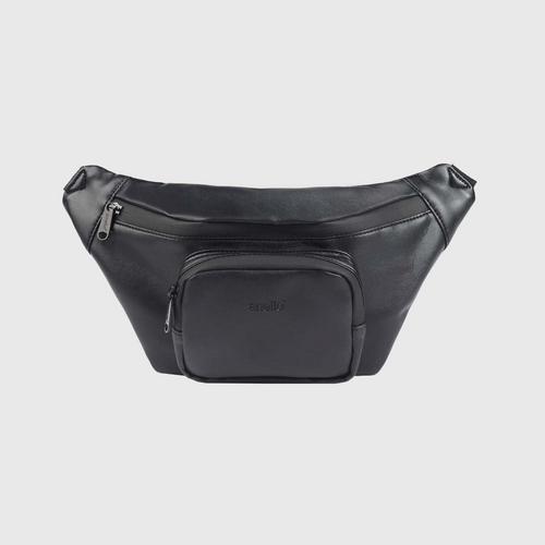 ANELLO OS-S075-ALTON Reg. Waist bag-BLACK