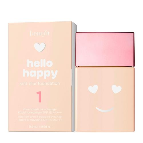 BENEFIT/贝玲妃 Hello Happy Soft Blur Foundation SPF15 PA+++ 30ml (01-Fair Cool)