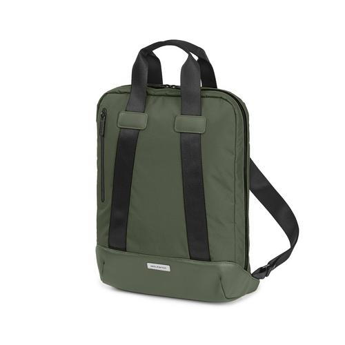 "MOLESKINE METRO VERTICAL DEVICE BAG 15"" MOSS GREEN"